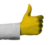 social media marketing - thumbs up